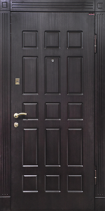 Входная дверь КВ173 вид снаружи