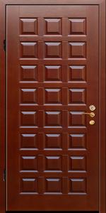 Бронированная дверь Б27 вид внутри