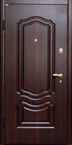 Входная дверь КВ40 вид внутри