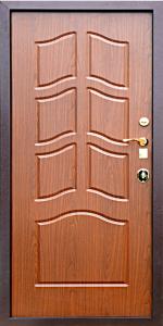 Входная дверь КВ203 вид внутри