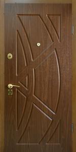 Готовая дверь ГД4 вид снаружи