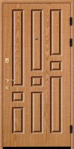 Входная дверь КВ140 вид снаружи