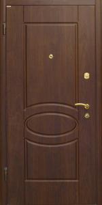 Входная дверь КВ81 вид внутри