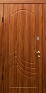 Входная дверь КВ128 вид внутри