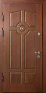 Входная дверь КВ144 в квартиру вид внутри