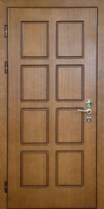 Квартирная входная дверь КВ163 вид внутри