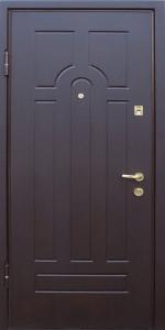 Бронированная дверь Б13 вид внутри