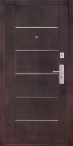 Входная дверь КВ80 вид внутри