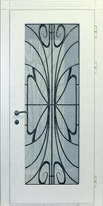 Входная дверь в дом М57 вид снаружи