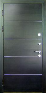 Входная дверь КВ153 вид внутри