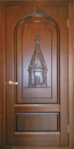 Готовая дверь ГД87 вид снаружи
