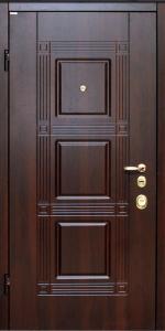 Бронированная дверь Б16 вид внутри