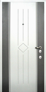 Входная дверь КВ167 вид внутри