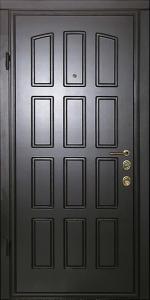 Входная дверь ТР121 вид внутри