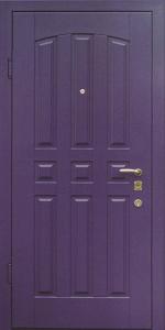 Бронированная дверь Б17 вид внутри