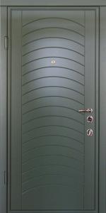 Входная дверь КВ166 вид внутри