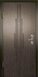 Входная дверь КВ123 вид внутри