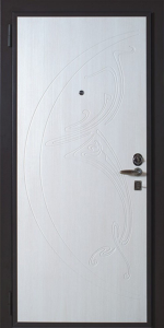 Бронированная дверь Б56 вид внутри
