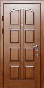 Входная дверь КВ124 вид внутри