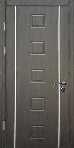 Бронированная дверь Б18 вид внутри