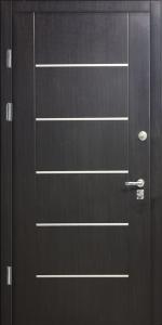 Бронированная дверь Б19 вид внутри