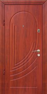 Бронированная дверь Б20 вид внутри