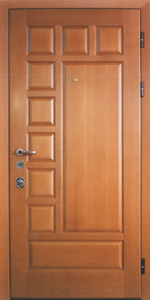 Усиленная дверь У66 вид снаружи