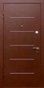 Тамбурная дверь Т54 вид внутри