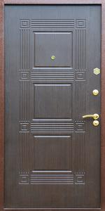 Входная дверь КВ164 вид внутри