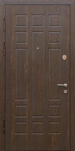 Входная дверь КВ130 вид внутри