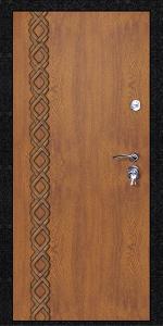 Усиленная дверь У66 вид внутри