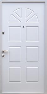 Бронированная дверь Б69 вид снаружи