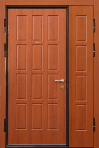 Бронированная дверь Б57 вид внутри
