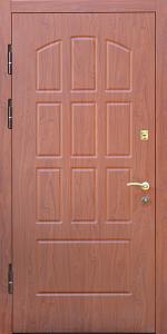 Бронированная дверь Б58 вид внутри