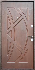 Входная дверь КВ211 вид внутри