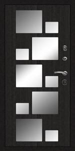 Бронированная дверь Б68 вид внутри