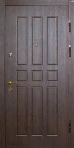 Бронированная дверь Б68 вид снаружи