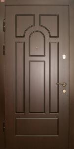 Входная дверь КВ132 вид внутри