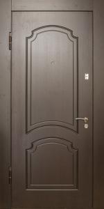 Бронированная дверь Б64 вид внутри