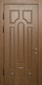 Входная дверь КВ219 в загородный дом вид внутри