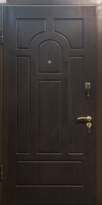 Входная дверь КВ220 вид внутри