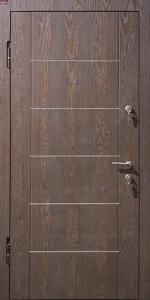 Входная дверь КВ159 вид внутри