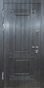 Бронированная дверь Б65 вид внутри