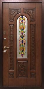 Бронированная дверь Б67 вид снаружи