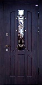 Входная дверь КТ45 вид снаружи