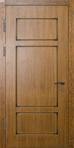 Входная дверь ТР160 вид внутри