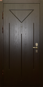 Бронированная дверь Б66 вид внутри