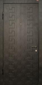Входная дверь КВ227 вид внутри