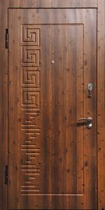 Входная дверь КВ228 вид внутри