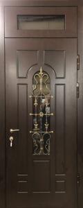 Бронированная дверь Б31 вид снаружи